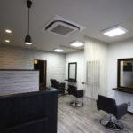美容室の内装デザイン