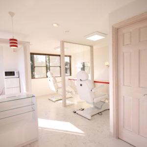歯医者の内装デザイン